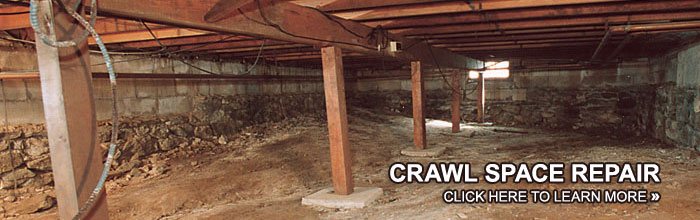 crawl space repair encapsulation contractor in meridian jackson